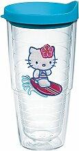 Tervis Hello Kitty Surfen Emblem Becher mit Deckel