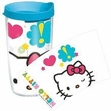 Tervis Hello Kitty Wink Tumbler with Lid HEKI-WINK-1-16-WRA by Tervis
