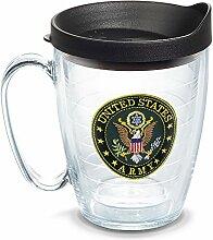 Tervis Isolierter Becher mit Logo der US-Armee,
