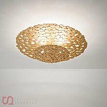 Terzani TRESOR Deckenleuchte, Ceiling lamp small Silver
