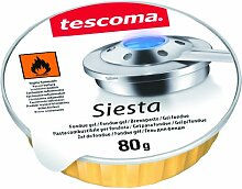 Tescoma 707050Siesta Brennpaste Fondue 3teilig