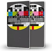 Testbild - Lautlose Wanduhr mit Fotodruck auf
