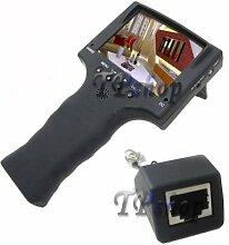 Tester Monitor Notebook 3.5Tester Kameras Netzwerk Ethernet LAN Ausgang 12V