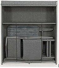 Testrut Aufbewahrungsschrank-Set Cadeo inkl. Tisch