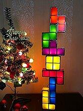 Tetris light Lampe Licht Stapelbare LED