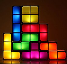 Tetris Tischlampen, DIY Lampe Wiederaufladbare