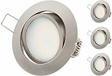 TEVEA® Ultra Flach Dimmbar LED Einbaustrahler -