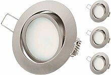 TEVEA Ultra Flach Dimmbar LED Einbaustrahler -