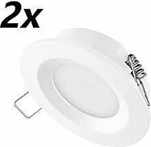TEVEA® Ultra Flach LED Einbaustrahler - 3.5W -