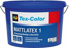 Tex-Color Base 1 Matt Latex Wandfarbe Stumpfmatte