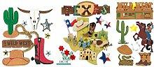 Texas Scrapbook Aufkleber | Dekoratives und