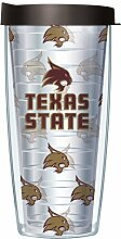 Texas State University Traveler Tumbler Becher mit