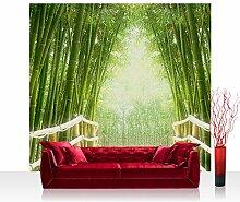 Textil Fototapete 300x280 cm PREMIUM EXCLUSIV Wand