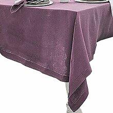 Textil Tischdecke Leinen-Optik,hochwertig mit