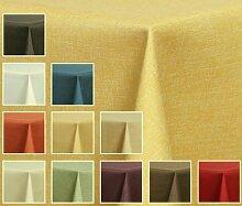 Textil TISCHDECKE - Leinen Optik -