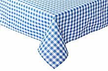 TextilDepot24 Karierte Tischdecke Züchen für