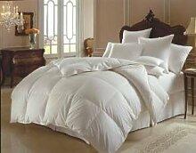 Textile Online 13,5 Tog, King Size Bett, Entenfedern &Daunendecke