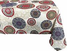 Textiles El Cid Alameda resinado Tischdecke, schmutzabweisend, aus Polycotton, Beige, 35x 35x 2.10cm