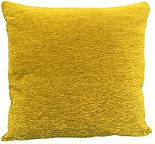 """Textiles el Cid Kissenhülle """"Ronda"""" C/14, Samt, senfgelb, 50x 25x 1cm"""