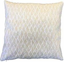 Textiles el Cid Mijas C/1Kissenbezug, aus Polycotton, Elfenbein, 50x 25x 1cm
