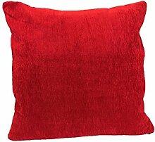 Textiles El Cid Runde C/15Kissenbezug, Samt, Rot, 50x 25x 1cm
