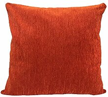 Textiles El Cid Runde C/6Kissenbezug, Samt, Orange, 50x 25x 1cm