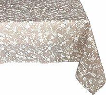 Textiles El Cid Sizilien resinado Tischdecke, schmutzabweisend, aus Polycotton, Beige, 35x 35x 1.90cm