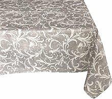 Textiles El Cid Tunesien resinado Tischdecke, schmutzabweisend, aus Polycotton, grau, 35x 35x 1.90cm