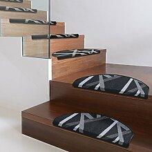 Textilfaser - Stufenmatte Printed für attraktive