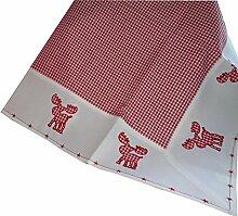 Textilserie Weihnachten Karo Rot Elch Auswahl