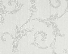 Textiltapete Haute Couture - 1005 x 53 cm Farbe: Grau