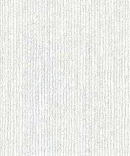 Textur-Leder Bergamo Crown Tapete silber, hellgrau