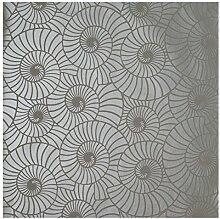 Texturas por Alexandra - Tapete, silber, P0413PA