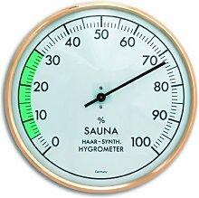 TFA Dostmann Analoges Sauna-Hygrometer,