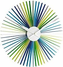 TFA Dostmann Daisy XXL Design-Wanduhr, moderne