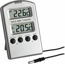 TFA Dostmann Digitales Innen-Außen-Thermometer,