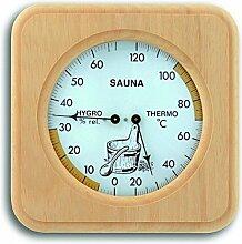 TFA Dostmann Sauna-Thermo-Hygrometer 40.1007, Haar-Synthetik