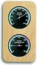 TFA Dostmann Sauna-Thermo-Hygrometer Haar-Synthetik 40.1004