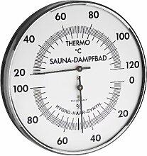 TFA Dostmann Sauna-Thermo-Hygrometer Haar-Synthetik 40.1032