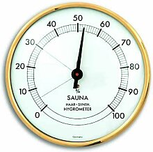 TFA SAUNA Hygrometer goldfarben-weiß 401003