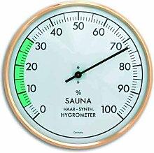 TFA SAUNA Hygrometer goldfarben-weiß 401012