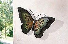 TFH Wanddeko Schmetterling bunt Metall