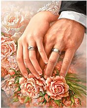 TFjXB 5D DIY Diamant Stickerei Rose Hochzeitsdekor