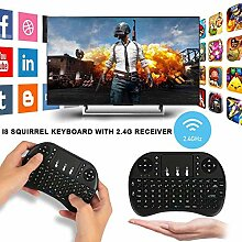 TFXHGM 2.4G Tastatur Air Maus kabellos Qwerty
