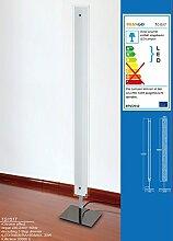 TG1517 LED Design Stehlampe Doppel-Glas inkl. 3