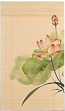 TH Bambus-Rollos, Sichtschutz-Jalousien,