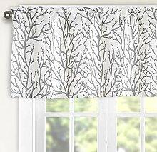 Th3mys Querbehang für Fenster, Baum-Zweig,