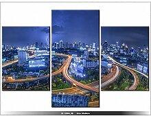 THAILANDE - BANGKOK - TABLEAU IMPRIME MODERNE - DECO - NEW DESIGN -