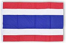 Thailandflagge Thailandfahne Flagge Fahne Thailand 100x70 cm Polyester