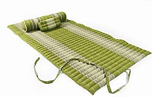 Thaimatten Set (Yogaset II): rollbare Thaimatte